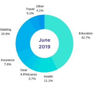 June 2019 Expense Horse