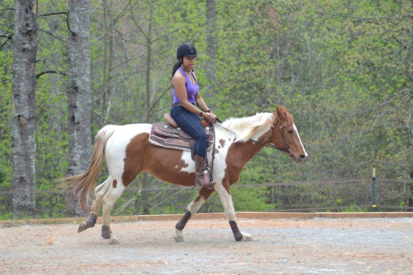 overcome horse riding fear