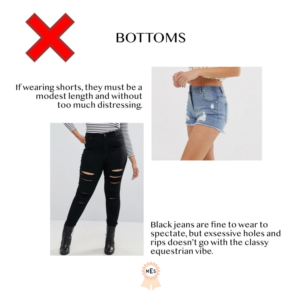 Fashion Dos And Don Ts For Horse Show Spectators