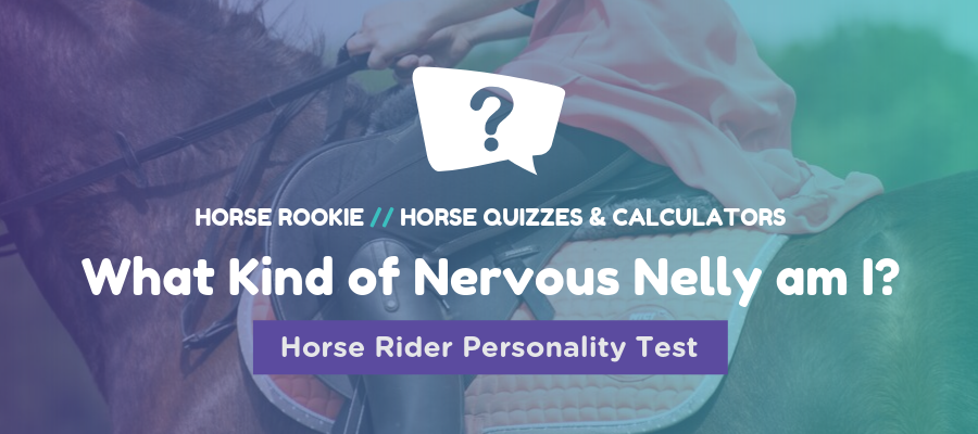 nervous rider personality test
