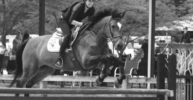 Channing Seideman Jumping Horse With Epilepsy