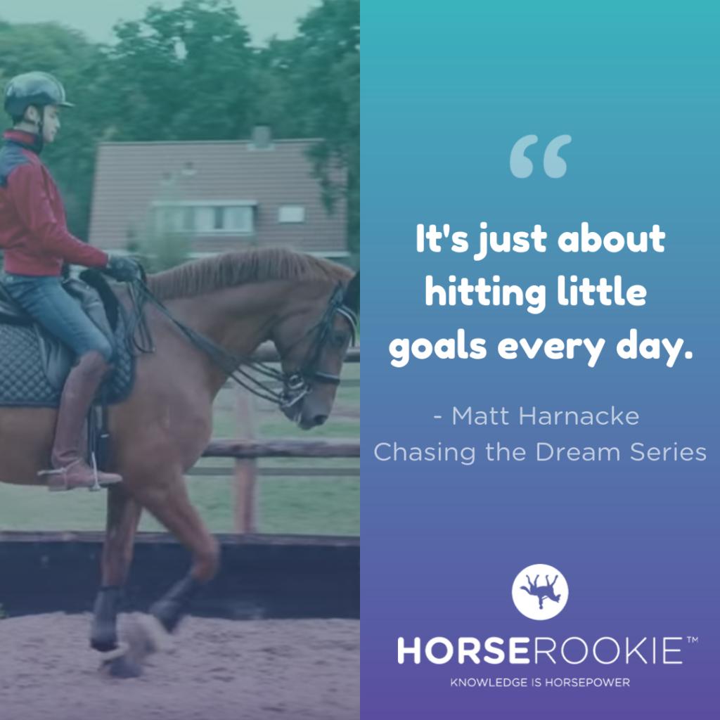 Matt Harnacke Horse Quote Riding