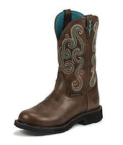 justin gypsy steel boot