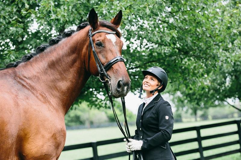 horse rider portrait photography