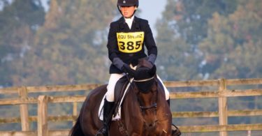 Harriet Upton Eventing Cantering