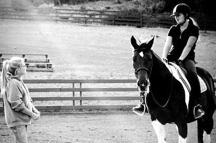 affording horse riding lessons