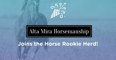 alta mira joins horse rookie