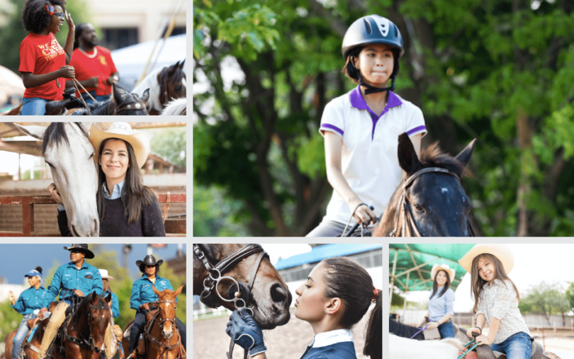 Equestrians of Color Photo Library