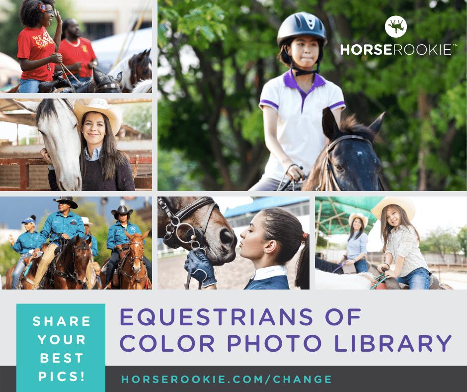 equestrians of color photos