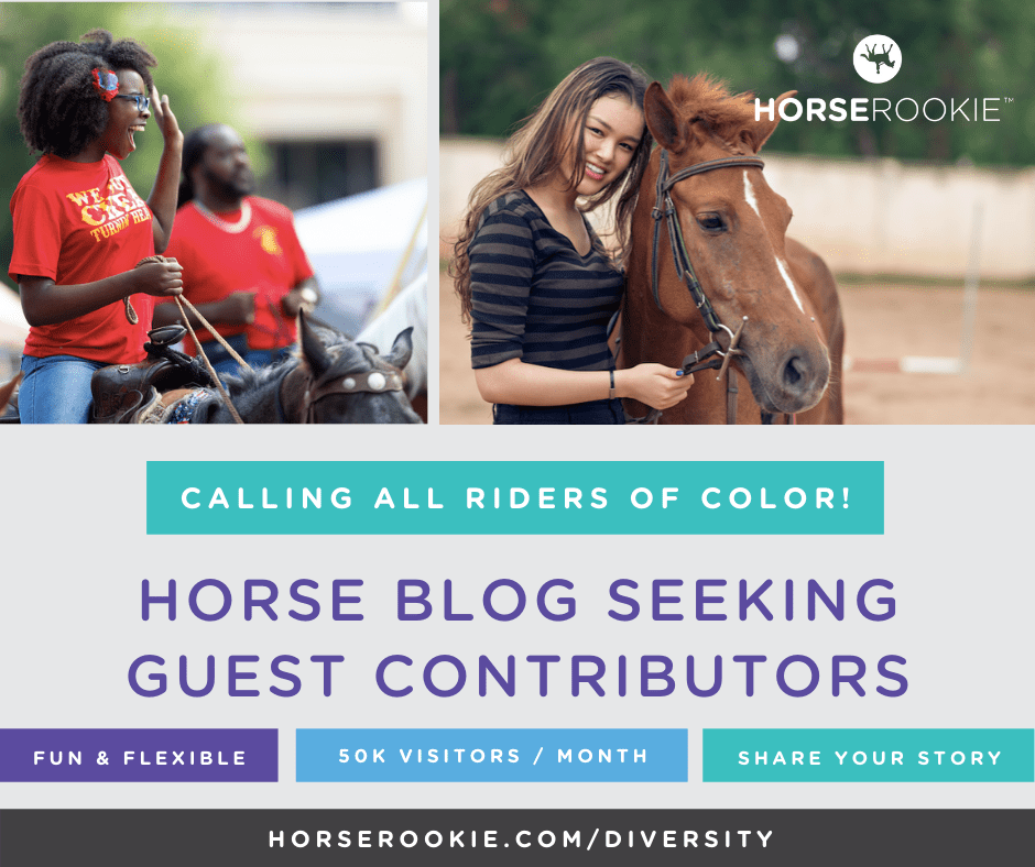 equestrians of color writing