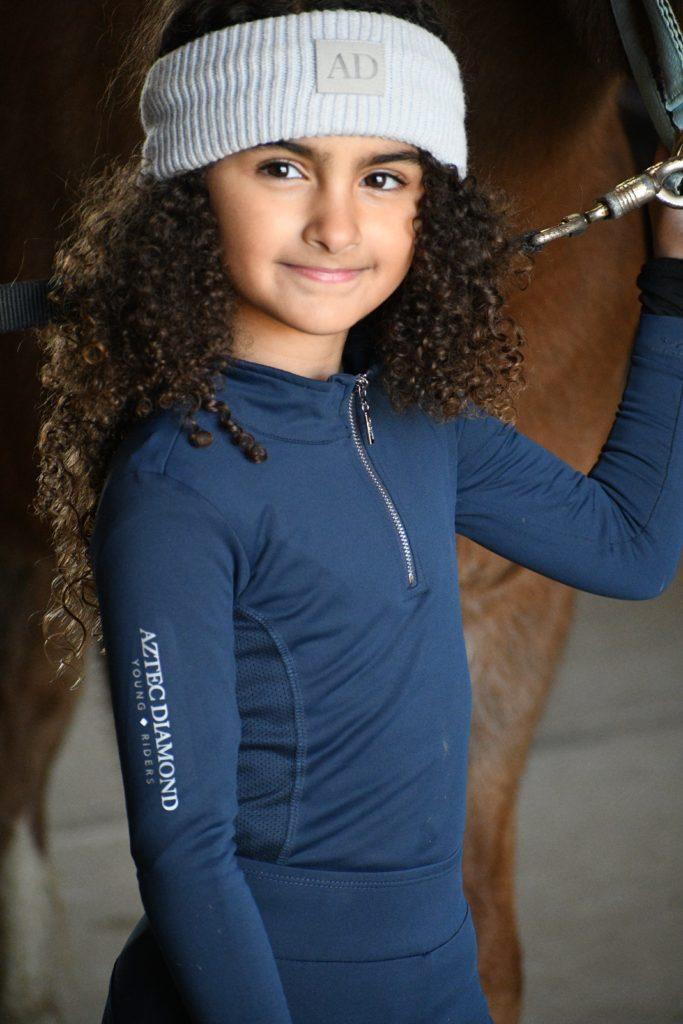 child horse rider