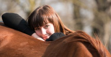 horse topline woman