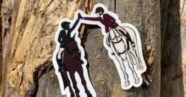 the positive equestrian stickers