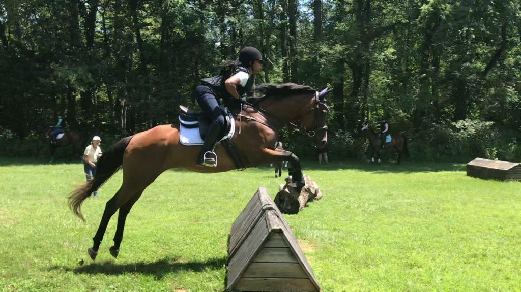 emily harris jumping