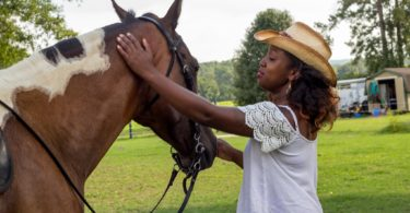 abriana johnson and her horse
