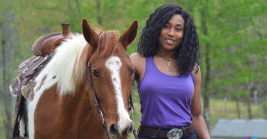 emily harris sisters horsing around