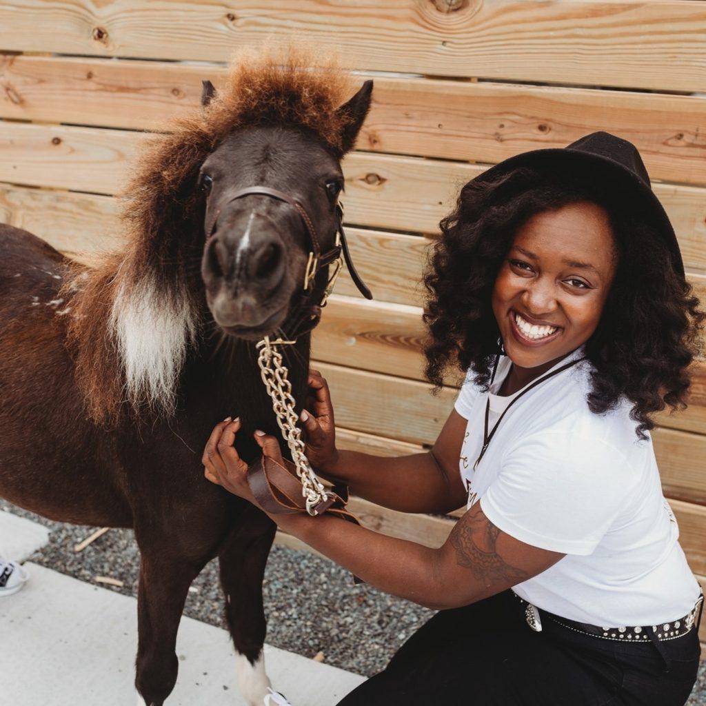 abriana johnson mini horse