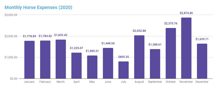 2020 expense summary