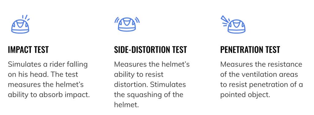 one k helmet testing
