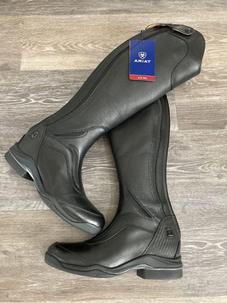ariat v sport boots pair