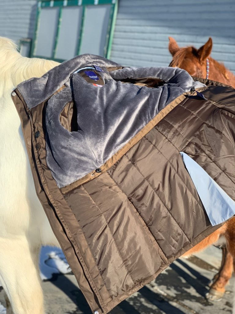 ovation tyra coat inside