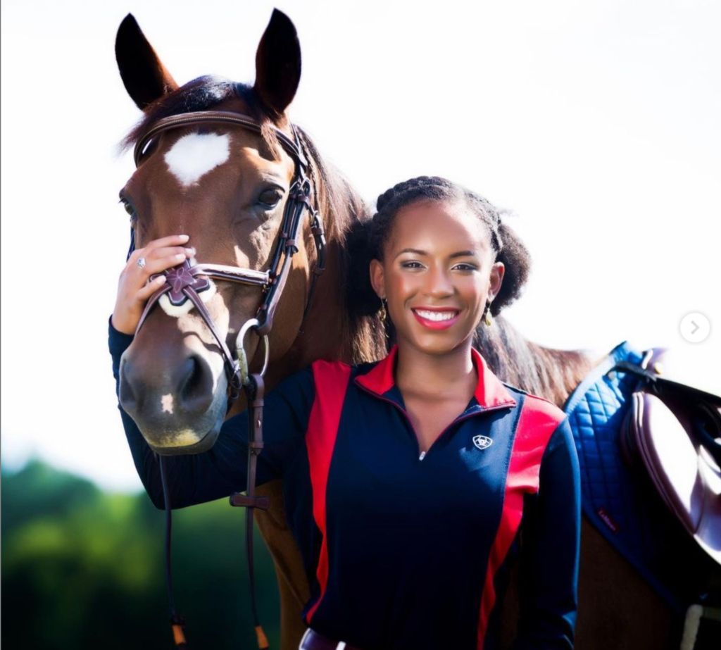camryn taylor with horse