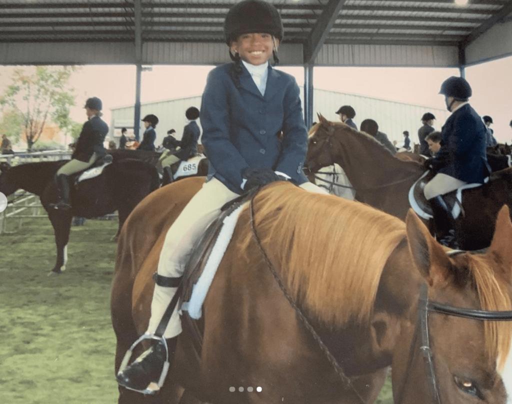 camryn taylor horse riding