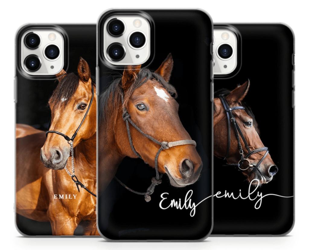 custom horse phone case