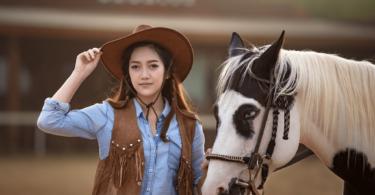 western horse show rider