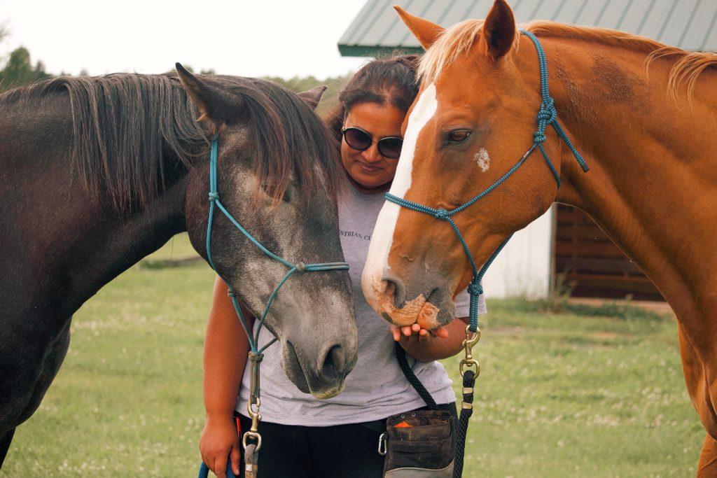 anu joshi horses
