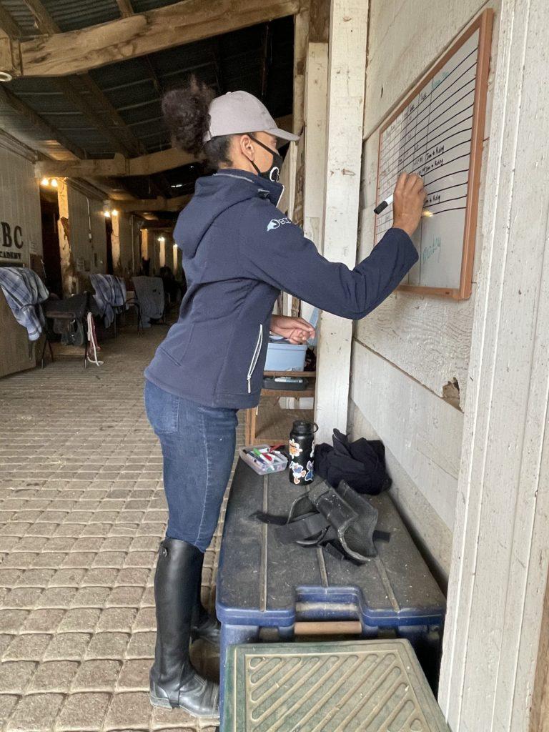 brittany chambers horse barn