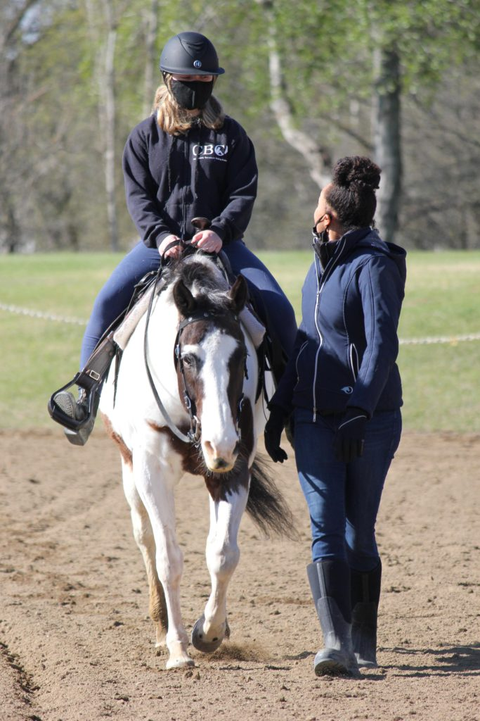 brittany chambers riding lesson