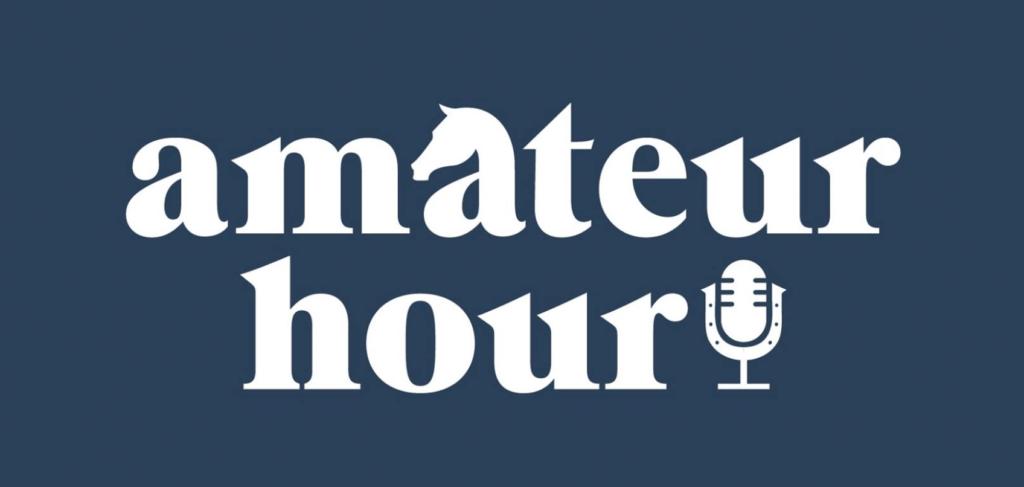amateur hour podcast logo