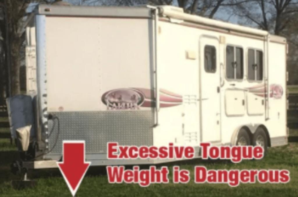 horse trailer tongue weight