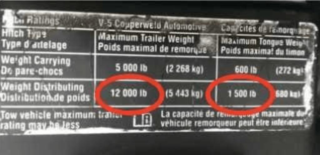 horse trailer weight specs
