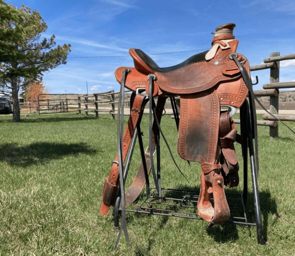 old mccall saddle