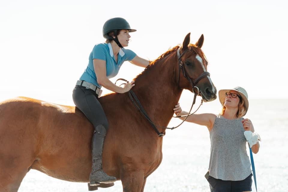 horse ride beach