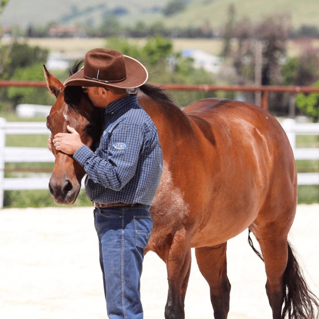 warwick schiller and his horse