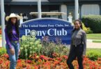 pony club sisters horsing around