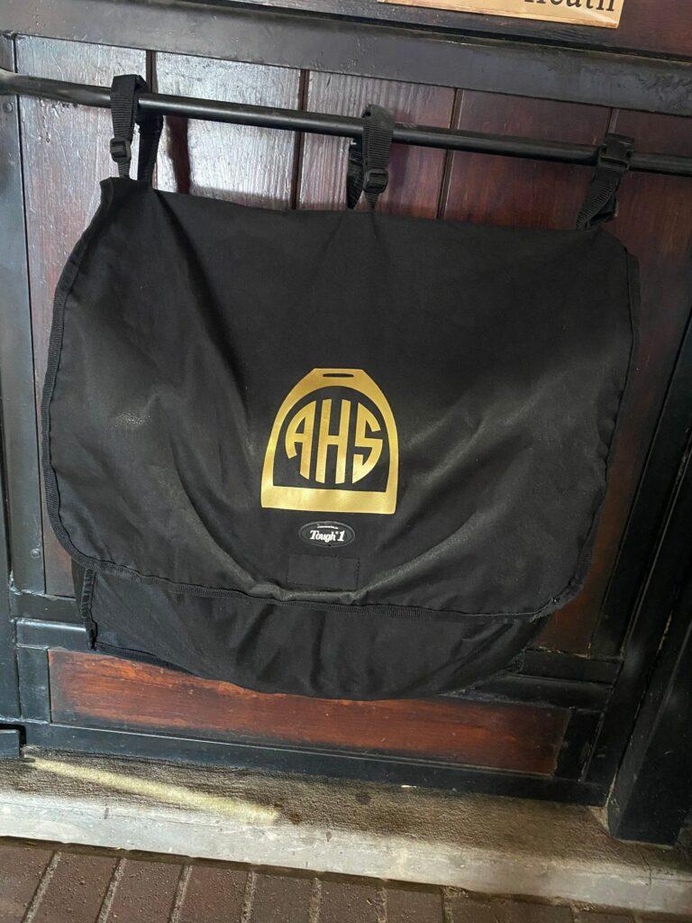 custom horse blanket bag