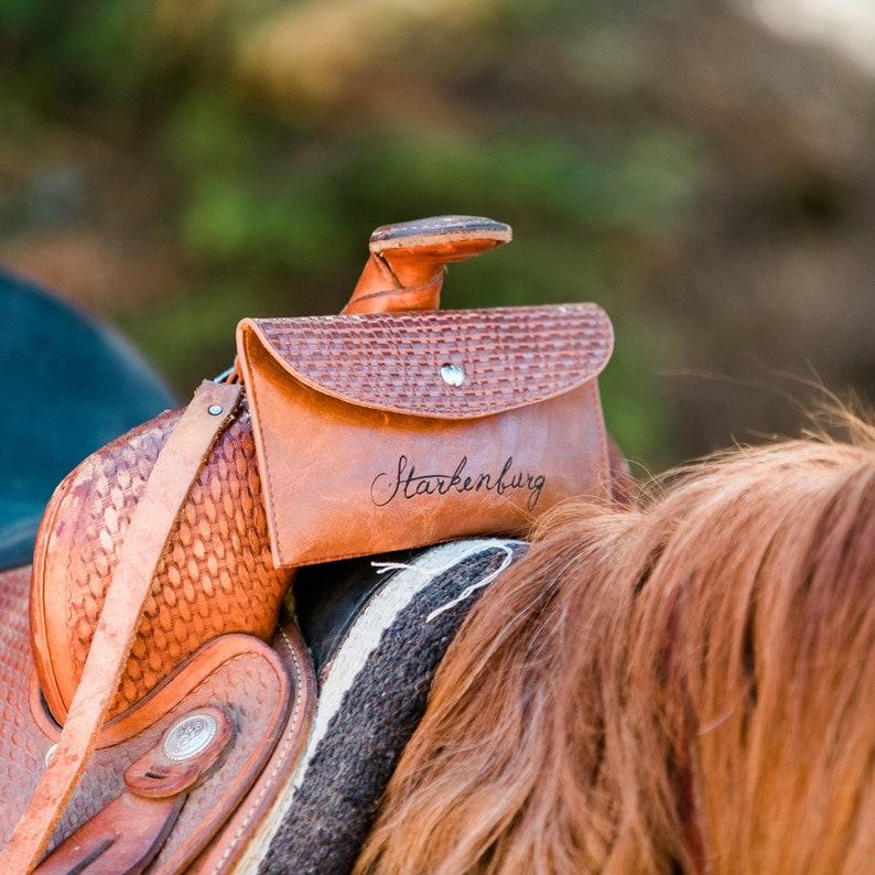 custom saddle phone case